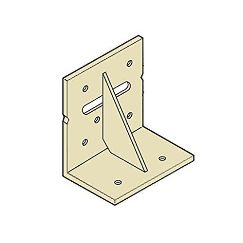 【50個】 カネシン まぐさ受け金物 LH-204 Cマーク 枠組壁工法用 [開口部の幅が1m以下の場合のたて材とまぐさの緊結] アミ 【代不】 B0786V5NDW