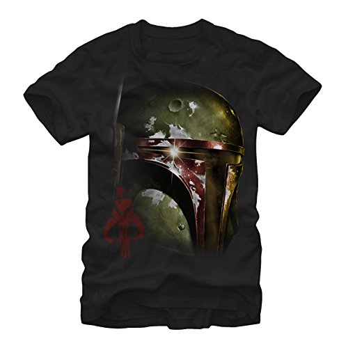 Star Wars Men's Boba Fett of Mandalore Black T-Shirt