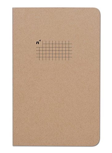 Northbooks USA Eco Graph Paper Notebook | Journal with 5mm Square Grid/Gridded Pages | Premium Recycled Thick Paper | 5x8