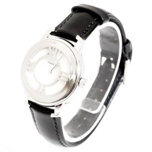 (ティファニー) TIFFANY&Co. 腕時計 ニューアトラスグリル 19102254 シルバー ブラック [並行輸入品] [時計] [時計] B00IALYGGA