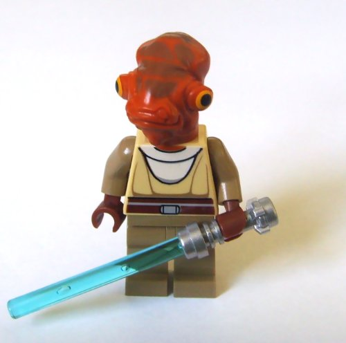 LEGO Star Wars The Clone Wars Nahdar Vebb Minifigure (Jedi Mini Figure)