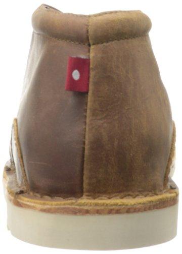 Oliberte Mens Adibo1 Chukka Boots Brun / Gul Pullup