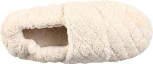 Eikel Womens Spa Wrap Slipper Natural