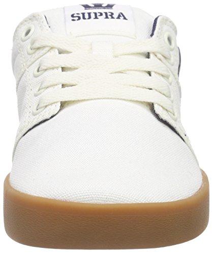 Stacks Gum Off White Skate Shoe Supra Men's II 5PqHx5z7