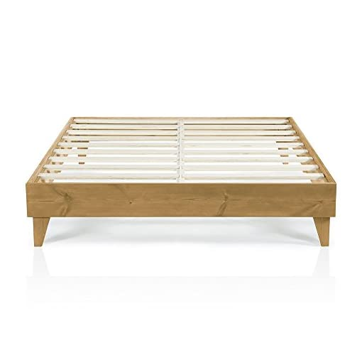 Bedroom Cardinal & Crest   Wood King Bed Frame No Box Spring Needed   Easy Assembly & Heavy Duty   Ideal King Size Bed Frame… modern beds and bed frames