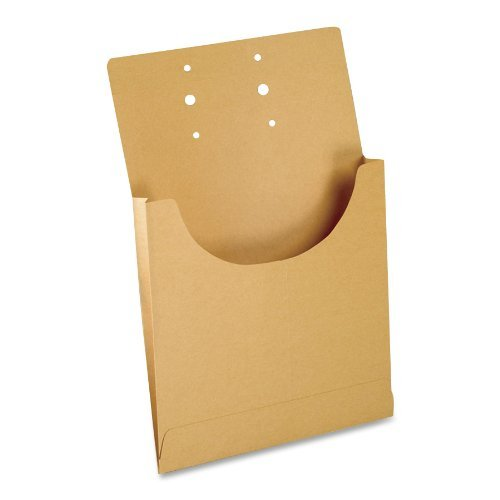 Pendaflex Expandable Retention Jackets - Pendaflex J044 Pendaflex Expandable Retention Jackets, Lgl/Ltr, Kraft Brown, 100/Bx by Pendaflex