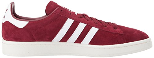 Sneakers adidas Campus Men's White Collegiate Chalk White Burgundy 1qBaEwxvq