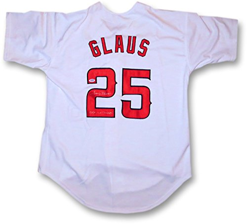 Troy-Glaus-Signed-Autographed-Jersey-2002-WS-Champs-Anaheim-Angels-PSADNA