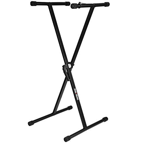 EMB Professional CKS508 Professional 2-Tier Column Keyboard Stand with 5/8
