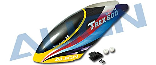 HC6008 - ALIGN T-Rex 600 Painted Canopy/Gelb
