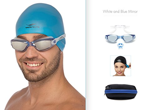 a23ceb8538ed Aeropost.com Jamaica - Swim Goggles Reversible Swimming Cap Protective Case  Exclusive Set