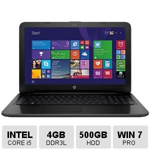 HP N2S70UT#ABA 15.6'' Intel Core i5-5200U/ Windows 7 Professional Laptop (4 Pentium 4gb Celeron Memory)