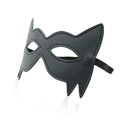 1Pc Pu Leather Cheap Fé-Tish Mask Women Man S:Ě-X Blindfold ßondage Halloween Day S:Ě-X Love Games S:Ě-Xy Töys For Couples