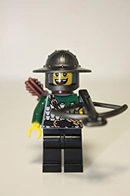 Lego Kingdoms DRAGON ARCHER with crossbow & quiver Castle NEW minifigure 7187.