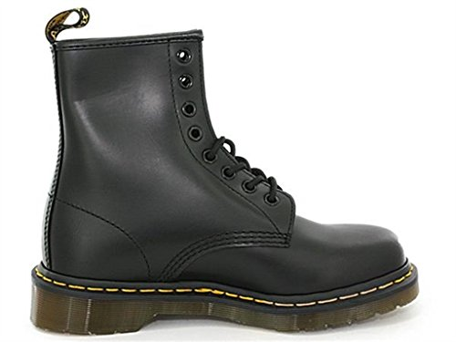 Noir Martens Mixte Dr Boots 1460 Wyoming Greasy Worm Black noir Adulte pwH0wAq