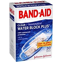BAND-AID CLR WATER BLOCK ASSORTED 30 EACH by Band-Aid