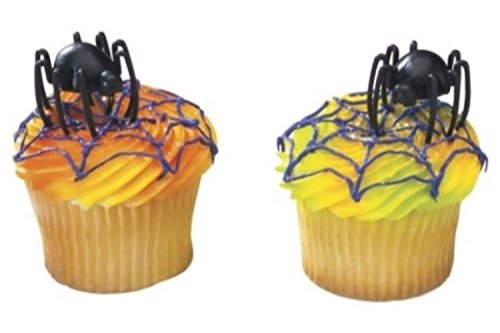 Cake Decorating Toppers - Halloween Hunchback Spider 12 (Decorating Halloween Cakes)