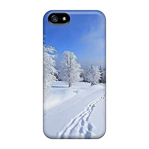Cute Appearance Cover/tpu MFPNZro7296NmaJg Winter Paradise Case For Iphone 5/5s