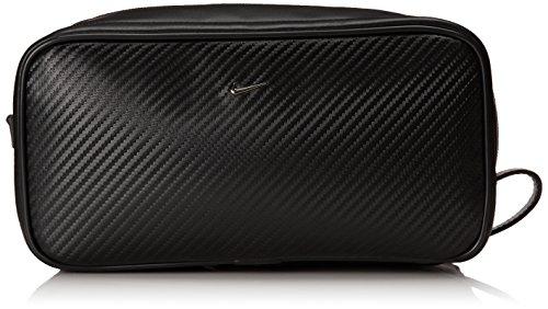 Nike Men's Carbon Fiber Texture Travel Kit, Black, One Size