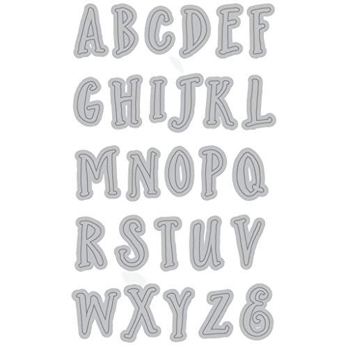 Recollections Cutting Template - Uppercase Alphabet