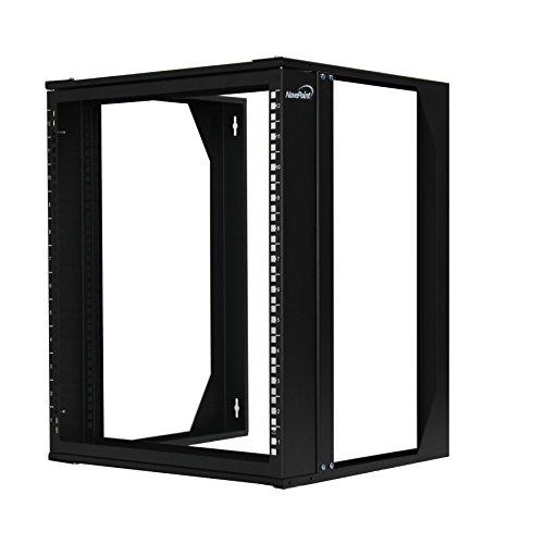 Swing Rack (NavePoint 12U Wall Mount IT Open Frame 19