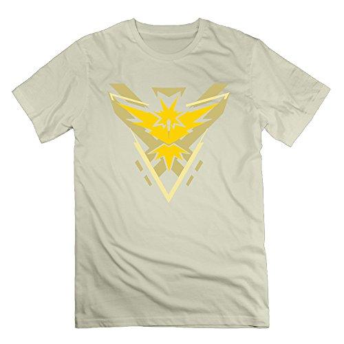 Team Mystic Cutout Natural Men's Sport Shirt For Men Size 3X -