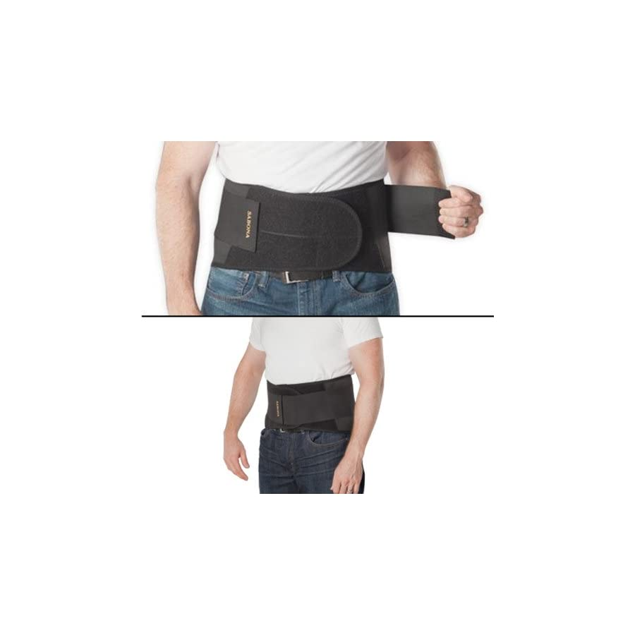 Sabona Deluxe Back Support with Copper Medium