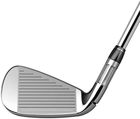 TaylorMade Golf M6アイアン8本セット (男性用、右利き、シャフト: Fujikura Atmos Orange、フレックス: R、セット内容: 4I,5I,6I,7I,8I,9I,PW,AW) N6878907 141[並行輸入]