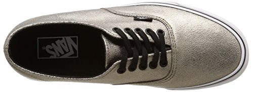 True White Vans Unisex Metallic Bronze Dorado Bajas U Authentic Decon Zapatillas xw1qR4P