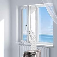 KIRNER Raamafdichting voor mobiele airconditioners, airconditioners, wasdrogers, afvoerdrogers | Hot Air Stop voor…