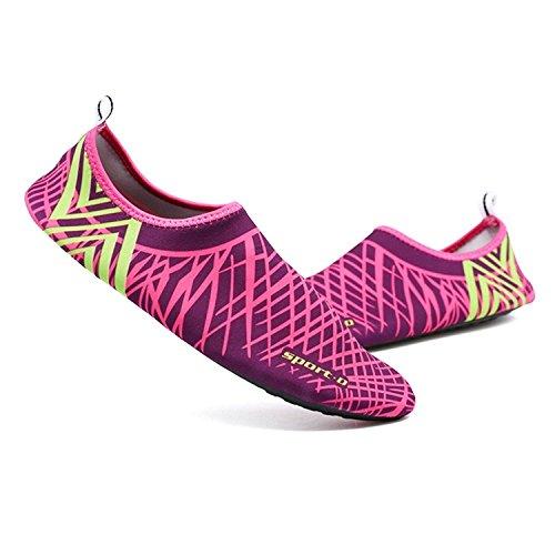 MAYZERO [On Sale] Mens Womens Water Skin Shoes Quick Dry Aqua Socks Barefoot Shoes For Beach Swim Surf Yoga