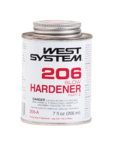 - WEST SYSTEM 206A Slow Epoxy Hardener