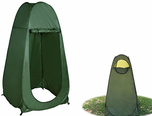 Rising-Sun Portable Green Pop Up Tent Camping Beach Toilet Shower Changing Room Nice Gift