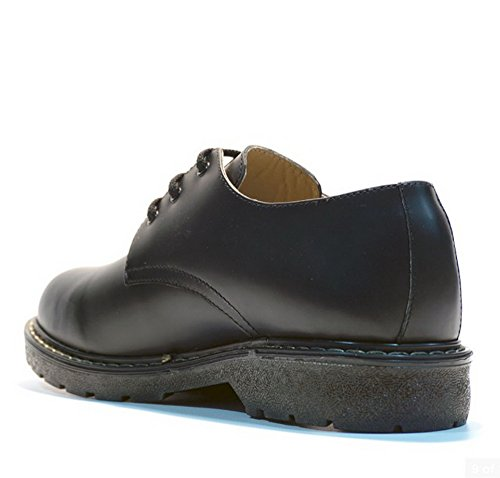 Grinders Herren Percival 3 Eye 2015 Schwarz Lace Up Derby Gibson Schuhe