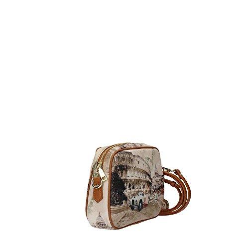 YNOT Crossbody, Borsa a Tracolla Donna, 3x16.5x23.5 cm (W x H x L) Multicolor