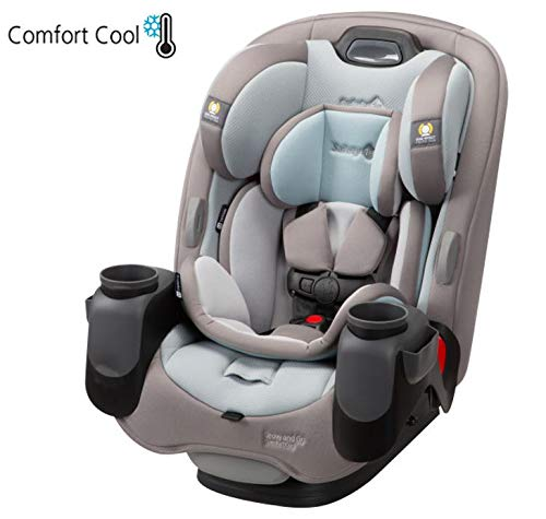 Safety 1ˢᵗ Grow and Go Comfort Cool 3-in-1 Convertible Car Seat, Niagara Mist