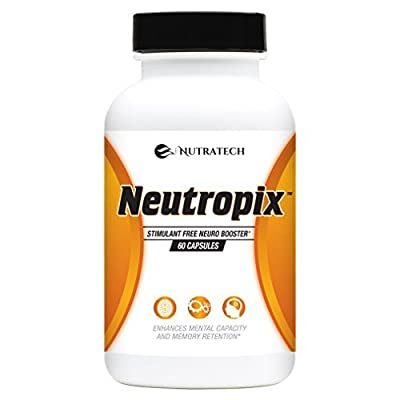 Neutropix – Support Brain Function, Memory, Attention Span, Concentration & Clarity with this Powerful Non-Stimulant Formula!
