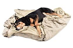"""Large Dog Blanket,Super Soft Warm Sherpa Fleece Plush Dog Blankets and Throws for Large Medium Dogs Puppy Doggy Pet Cats,60""""X50"""""""