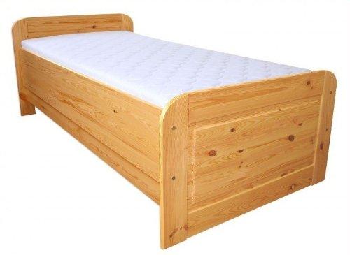 60.42-10 oR Seniorenbett Massivholz 100 x 200 cm, extra hohes Bett