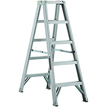 Louisville Ladder Am1005 300 Pound Duty Rating Aluminum