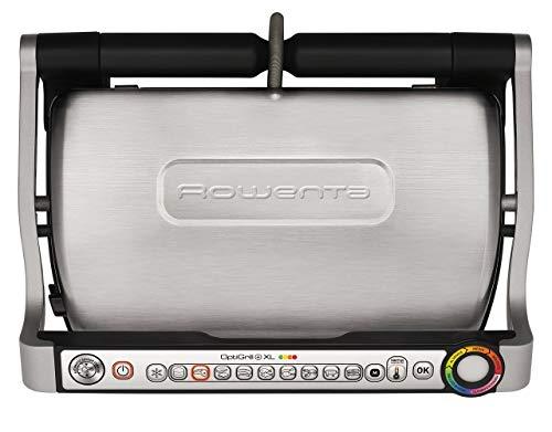 Rowenta GR722D Optigrill+ XL Bistecchiera Intelligente con 9 Programmi di Cottura Automatici, Nero / Argento 48x37… 3