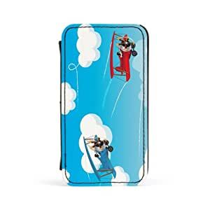 Bi-Planes Premium Faux PU Leather Case, Protective Hard Cover Flip Case for Apple? iPhone 4 / 4s by Nick Greenaway + FREE Crystal Clear Screen Protector