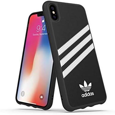 Adidas Handyhülle Entwickelt Für Iphone Xs Max Hülle Fallgeprüfte Hüllen Stoßfeste Erhöhte Kanten Original Schutzhülle Schwarz Und Weiß Streifen Elektronik