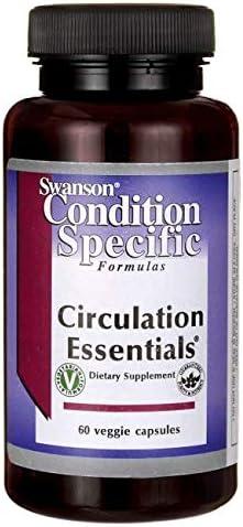 Swanson Circulation Essentials 60 Veg Capsules