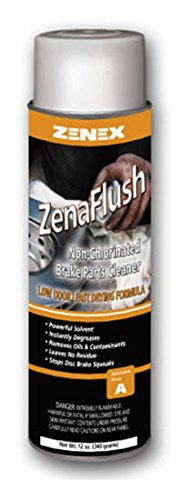 Zenex ZenaFlush Non-Cholorinated Low Odor Brake Cleaner - 12 Cans (Case) | Not for sale in California