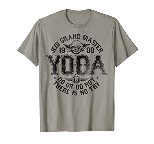 Star Wars Yoda Master 1980 Do Or Do Not T-Shirt (Baby Masters Clothes)