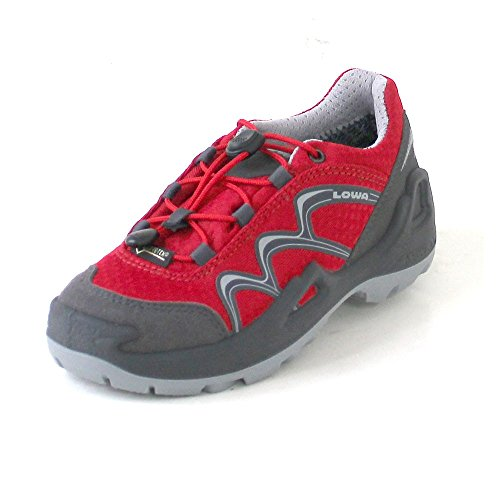light grey Diego children Outdoorschuhe Red lime GTX Red Lowa Lo Grey HxfPn4Uqn