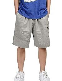 Mens Plus Size Five-Pants Men's Shorts Casual Outdoors/Sports/Beach Capris Pants