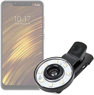 DURAGADGET Flash Selfie para Smartphone Xiaomi Mi 8 Lite, Xiaomi ...