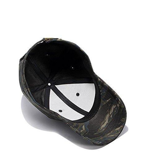 béisbol al 001 Cap Sombrero Camo de Transpirable Deportes de Aire Libre MAOXZI Gorras 76OTFWW